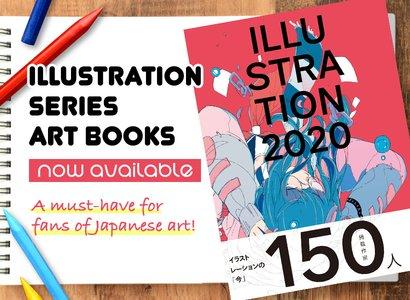 Illustration Series Art Books