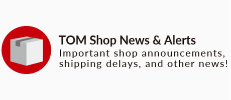 TOM Shop News