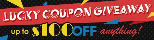 Lucky Coupon Giveaway 2020