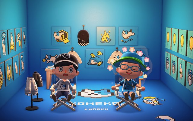 In-Game Interview! Animal Crossing: New Horizons Home to Japanese Artist BAN-8KU's Latest Exhibitions