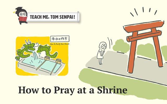 How to Pray At A Shrine: Teach Me, TOM Senpai!