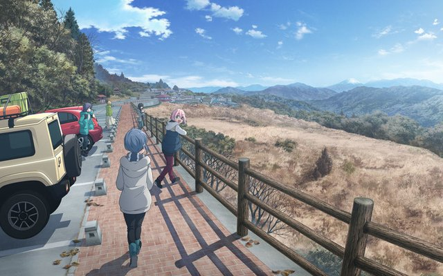 Laid-Back Camp Film to Open in Summer 2022!