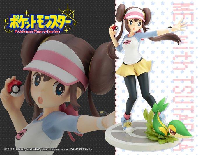Kotobukiya ARTFX J Pokemon Rosa Mei with Snivy 1//8 Complete Figure Japan