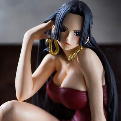 Banpresto One Piece Creator X Creator Boa Hancock Bleue