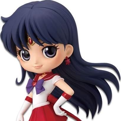 READY Banpresto Sailor Moon Eternal Q Posket Super Sailor Mars Figure Ver A