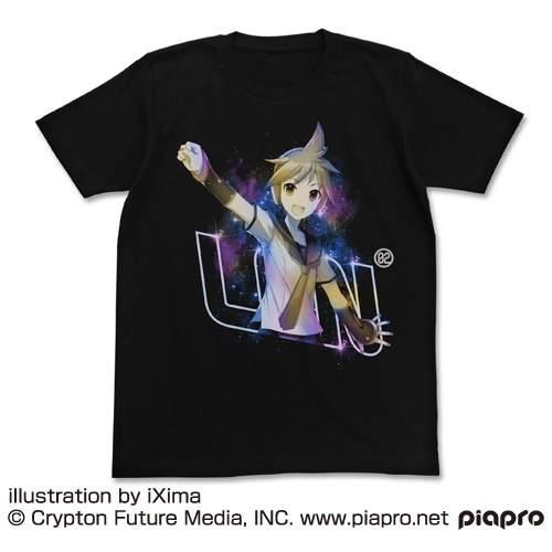 Kagamine Len V4x Black T Shirt Cospa Tokyo Otaku Mode