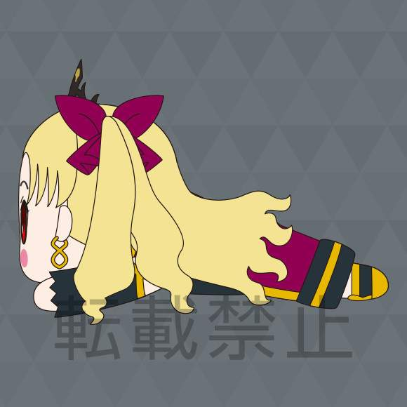 Ereshkigal Lancer Nesoberi Big 40cm Big Plush SEGA Fate//Grand Order Babylonia