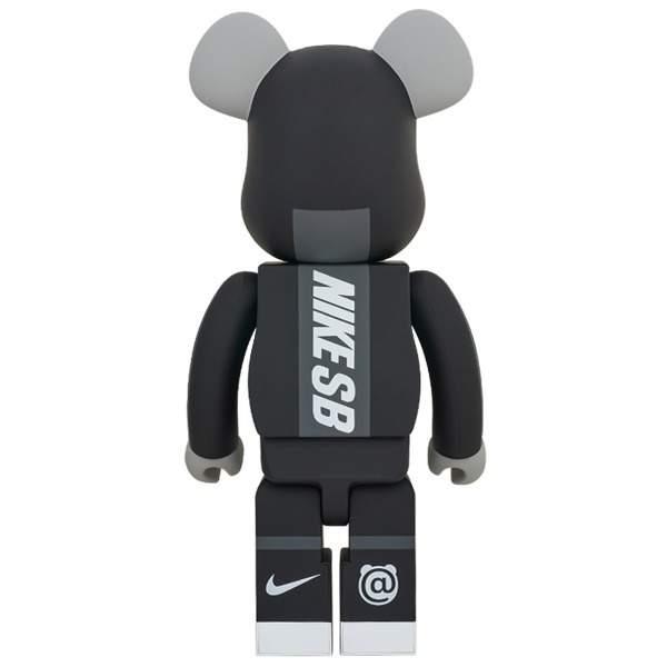 BE@RBRICK Nike SB Black 1000%: MEDICOM