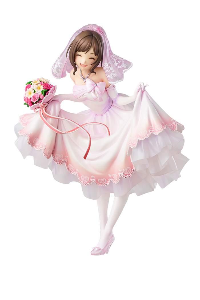 Idolmaster Cinderella Girls Miku Maekawa Cat Lady Ver 1//8 PVC Figure New 21cm