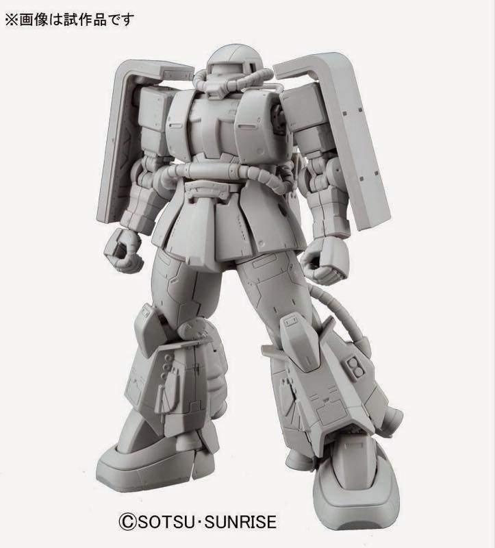 Bandai Hobby Gundam The Origin Zaku II Gaia//Mash Custom HG 1//144 Model Kit USA