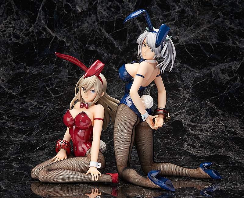 New Anime God Eater 2 Rage Burst Ciel Alencon Bunny Ver 1//4 Scale PVC Figure