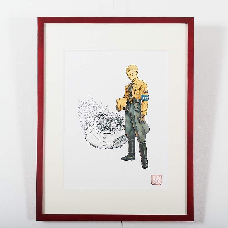 Akira Toriyama Reproduction Art Print Dragon Ball The Complete Edition 5 Otakumode Com