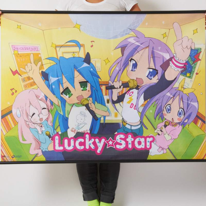 Lucky Star Karaoke Wall Scroll Tokyo Otaku Mode