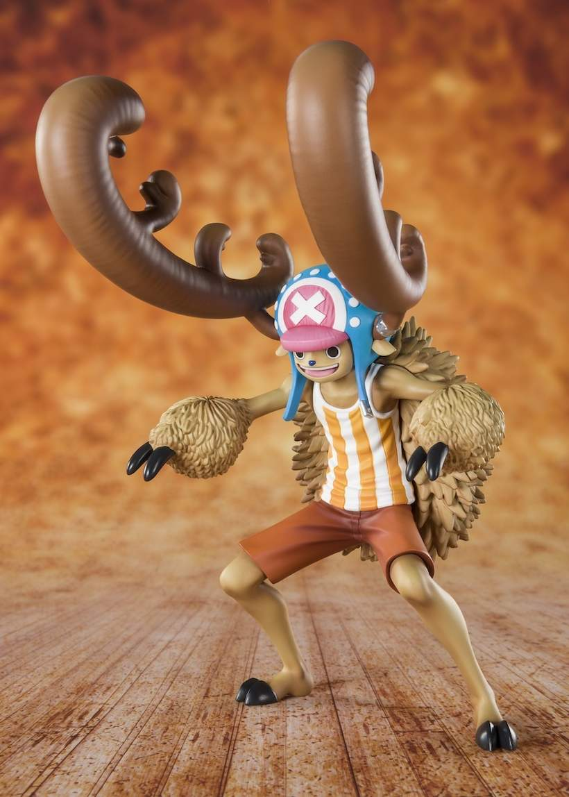 *NEW* One Piece Candy Lover Chopper Horn Point Ver FiguartsZERO PVC Figure