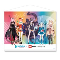 hololive English x Anime EXPO Lite 2021 B2-Size Tapestry