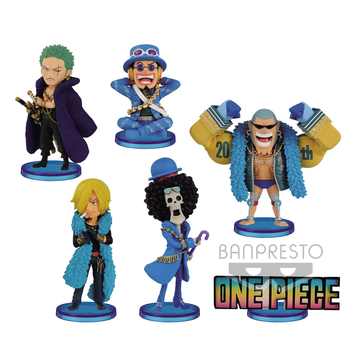 BANPRESTO ONE PIECE World Collectable FRANKY FIGURE STAMPEDE 10 vol.2 WCF