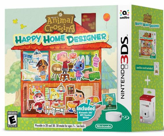 Animal Crossing: Happy Home Designer Bundle (3DS): Nintendo - otakumode.com