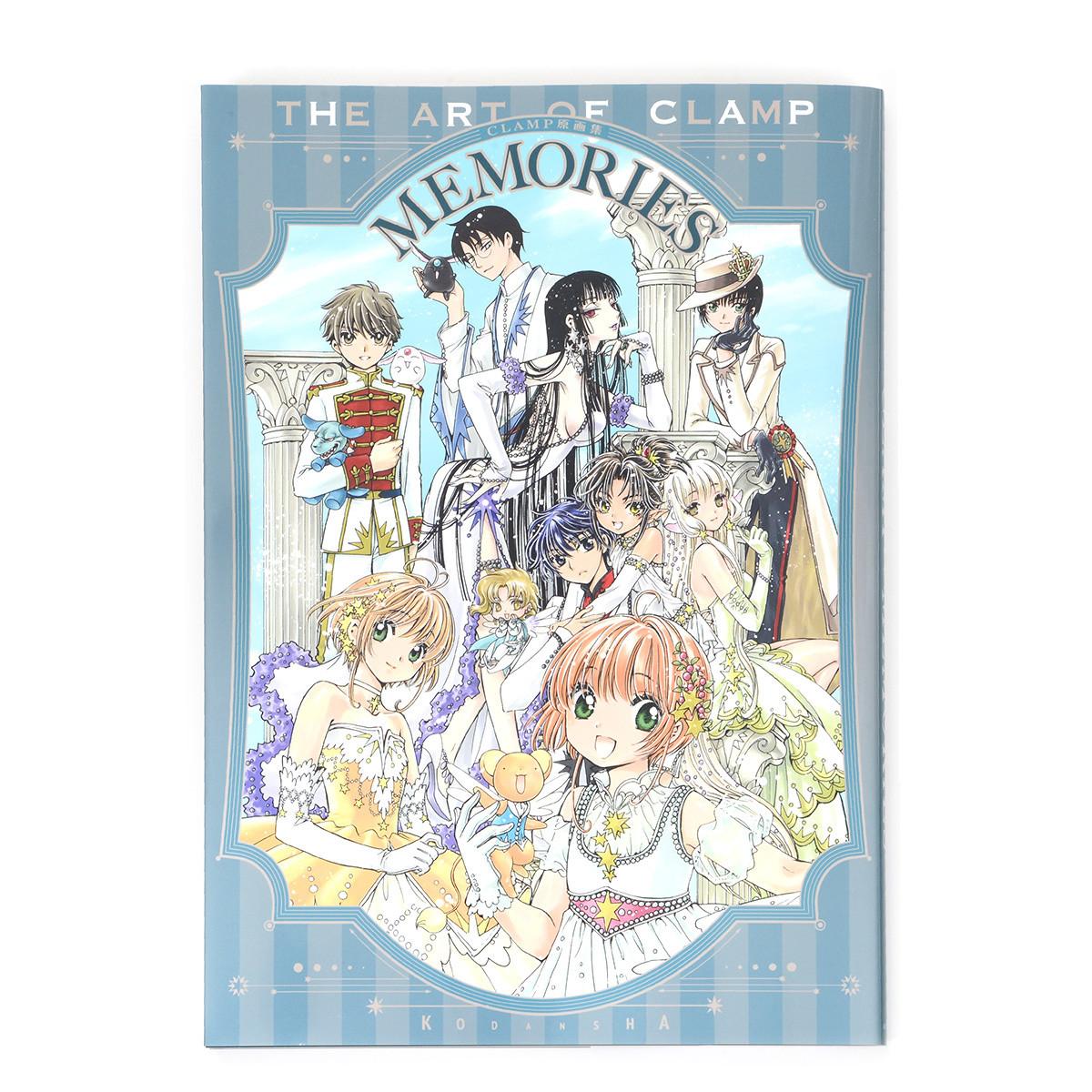 The Art Of Clamp Memories Book Japan Cardcaptor Sakura Rayearth Tsubasa Clover
