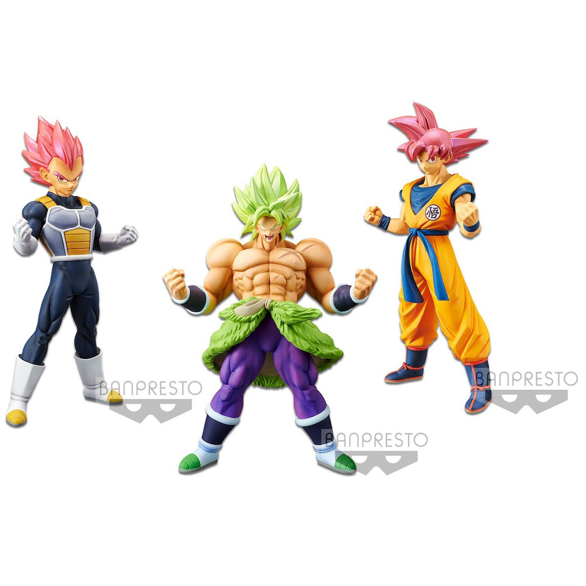 Action Figure Dragon Dall Banpresto Broly Action Figure Broly Banpresto 22cm