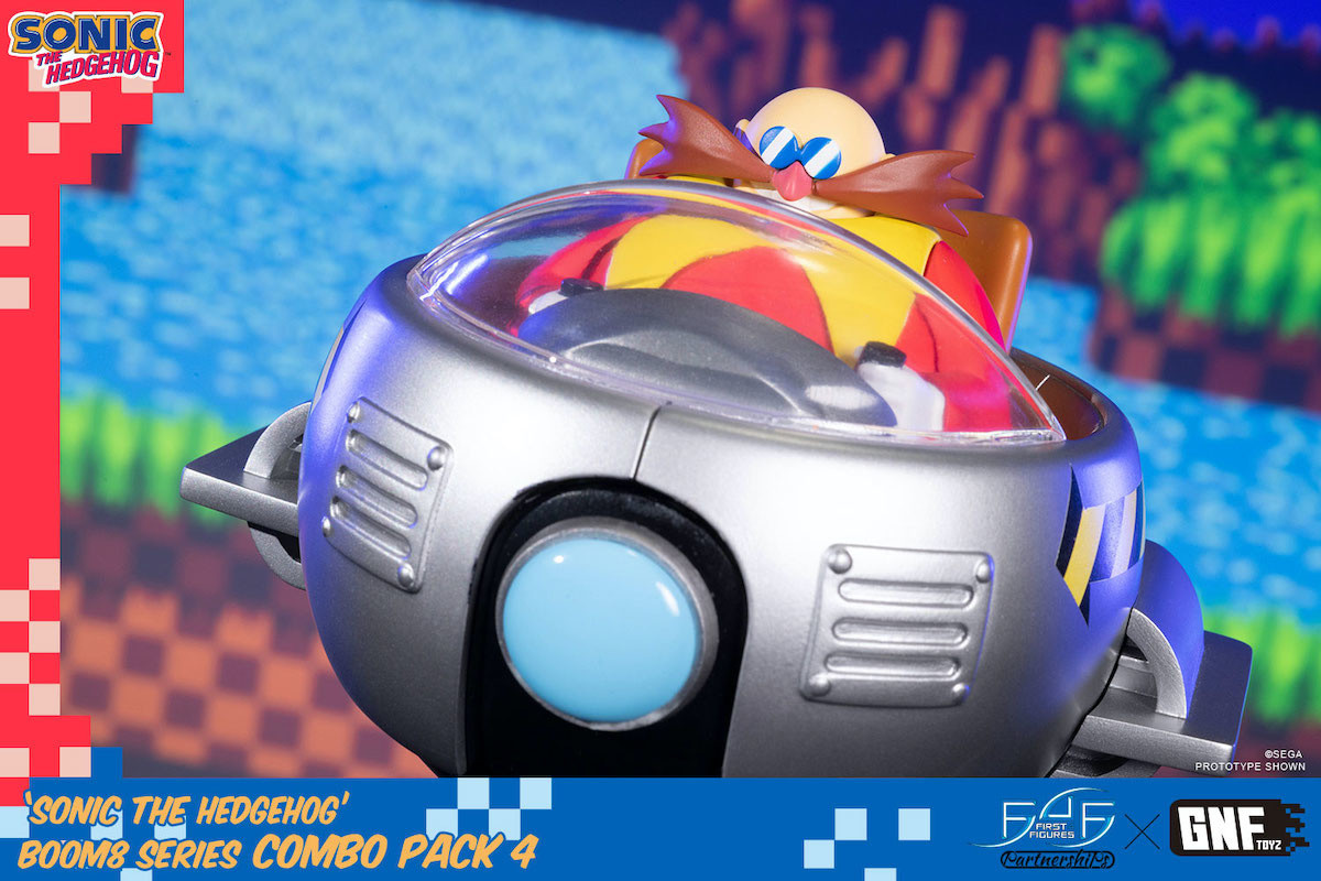 Sonic The Hedgehog Dr Eggman Non Scale Figure First 4 Figures Otakumode Com