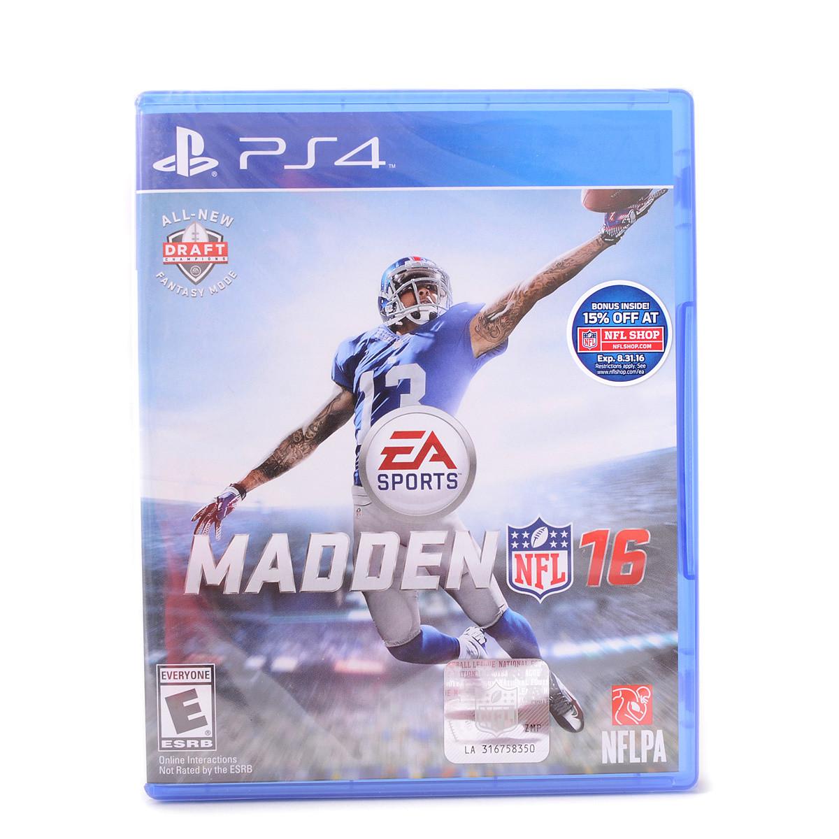 Madden NFL 16 (PS4)