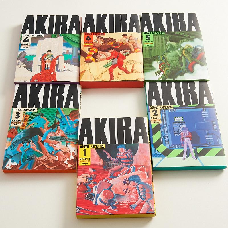 Akira Manga Volumes 1 6 Set Tokyo Otaku Mode