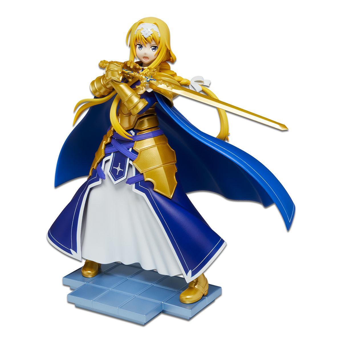 Sword Art Online Alicization SAO Hook Figure Alice Kirito Eugeo 10cm FuRyu