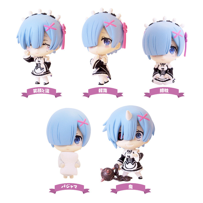 Re:Life In a Different World From Zero Rem 4/'/' Nendoroid PVC Figure In Box