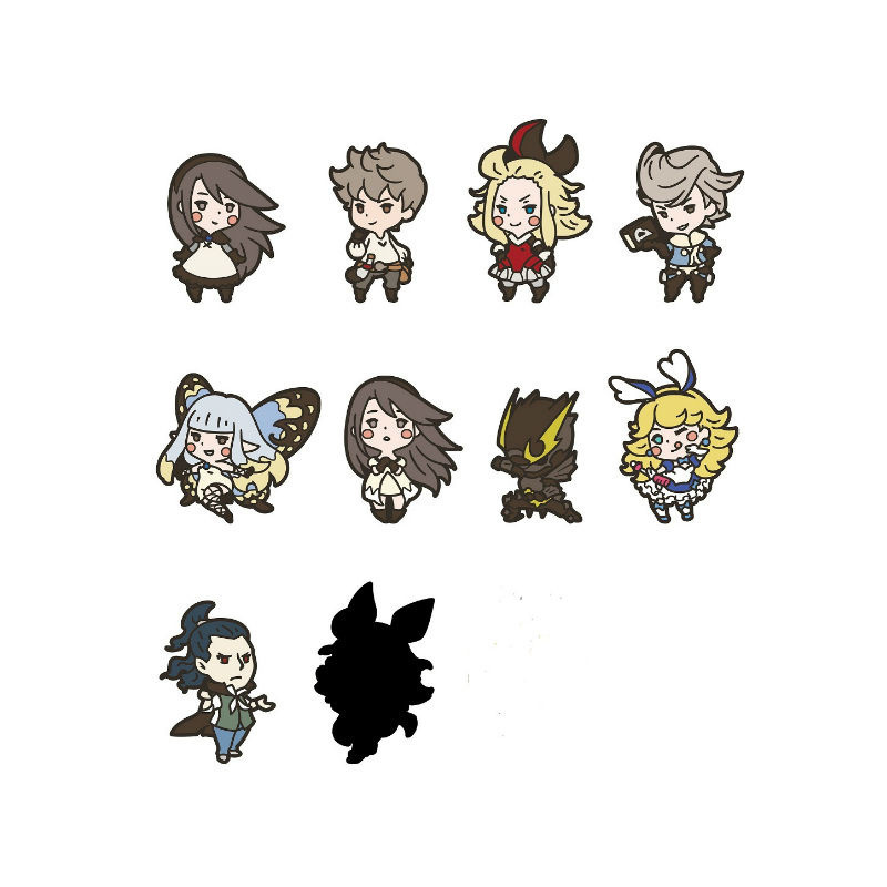 Bravely Default Airy Rubber Phone Strap NEW