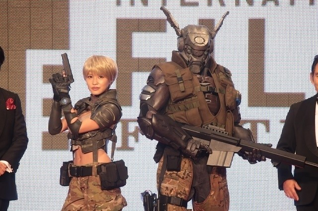 Deunan And Briareos From Cg Anime Appleseed Alpha Appear On Red Carpet At Tokyo International Film Festival Event News Tom Shop Figures Merch From Japan