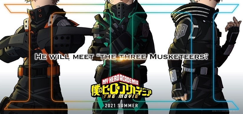 My Hero Academia to Release Third Movie Next Summer!