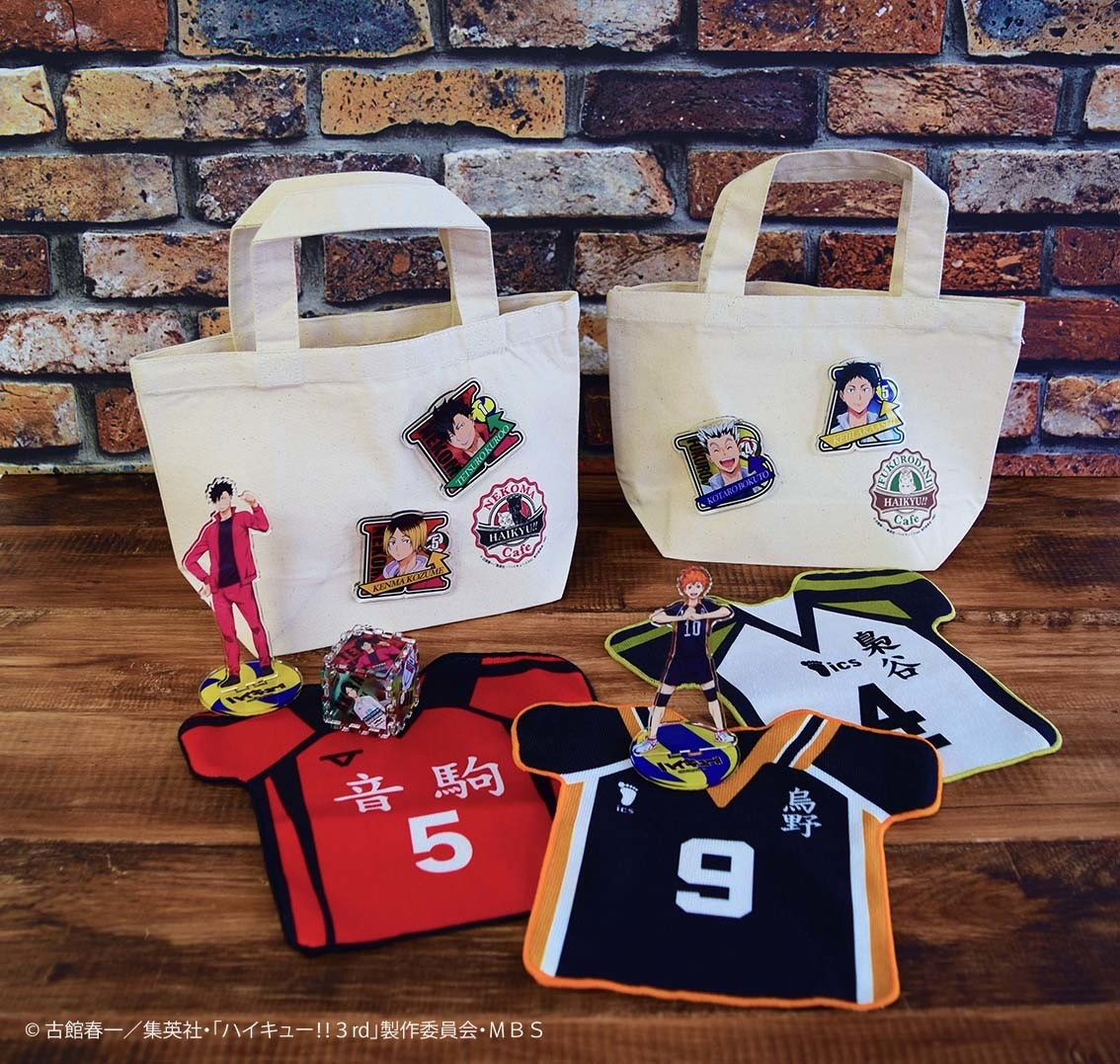 Haikyu!! x JUMP SHOP Collab Event Opening for 4th Year! | Event News | TOM  Shop: Figures & Merch From Japan