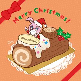 「USAGI ON THE CHRISTMAS CAKE」