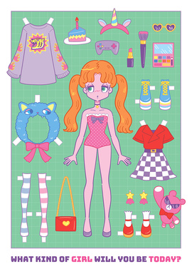 Dress-Up Girl