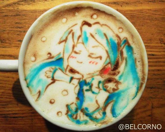 Latte Art [Snow Miku]